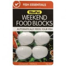 Fish Feed Block form, pkt/4 week end