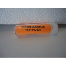 Sodium Benzoate Test Paper,pkt/100
