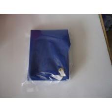 Apron, bib type pvc blue