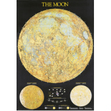Chart, Moon Map, Astronomy