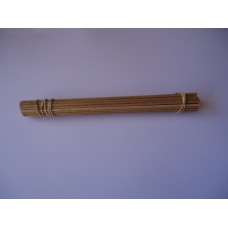 Axles, wooden dowel,250mm x 4mm pkt/100
