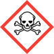GHS Pictograms for Dangerous Goods Cabinets - Toxic