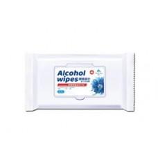 Alcohol wipes, 75% alcohol pkt/50