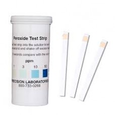 Peroxide test strips high range pkt/50