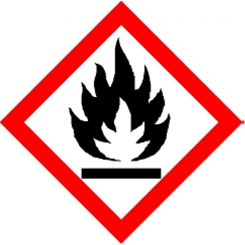 Label Flammable 20mm