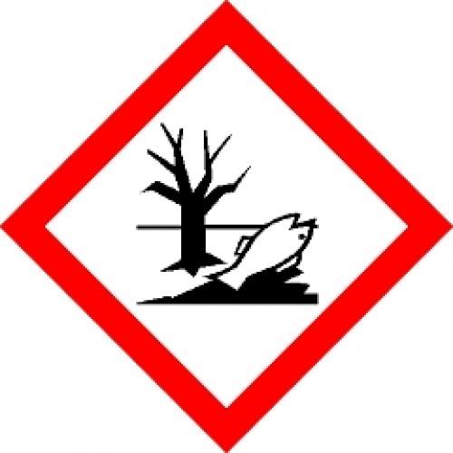 Label Environmental Hazard 20mm