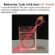 Refraction Tank with Laser
