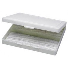 Microscope slide box 100 slides